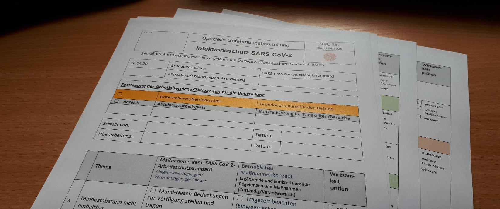 Gefährdungsbeurteilung-SARS-CoV-2